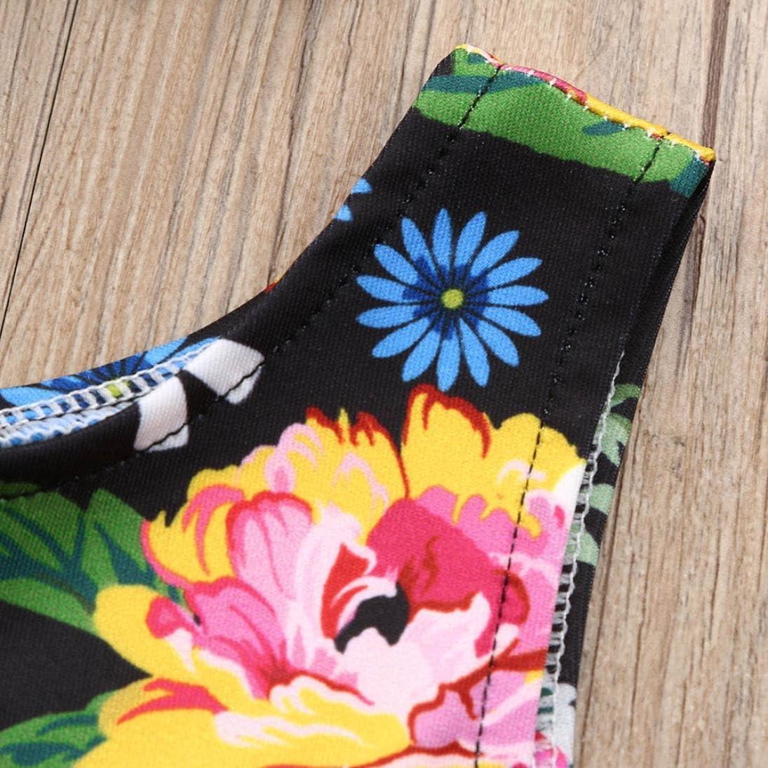 Ropa Bebe Recien Nacido Verano Ni/ña Arco Sin Mangas Tut/ú Vestidos Ni/ñas Floral Bowknot Princesa Vestidos De Fiesta Trajes K-youth Ropa Ni/ña