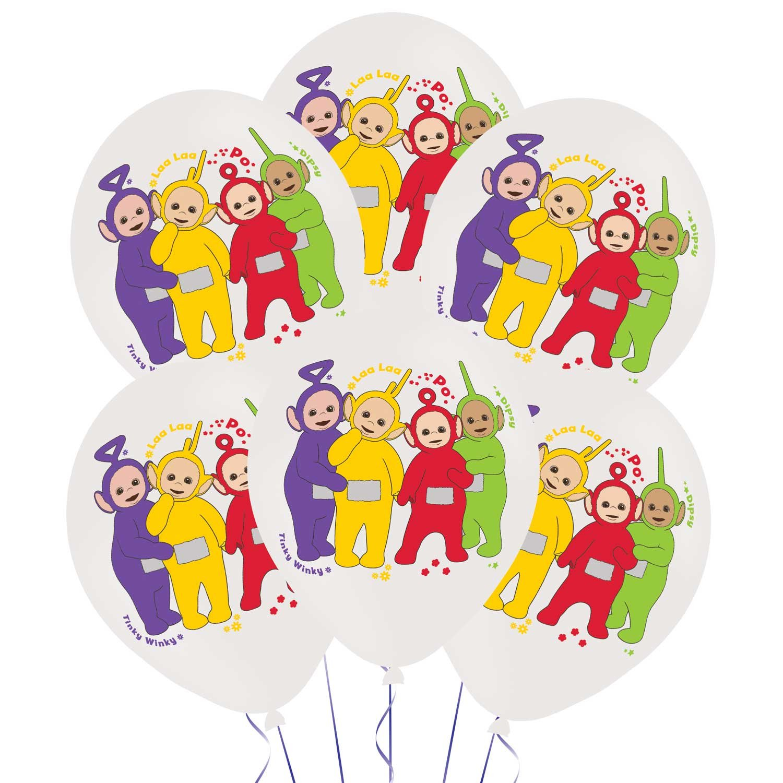 Amscan International Teletubbies 4-Farben-Latex-Ballon, 28 cm ...