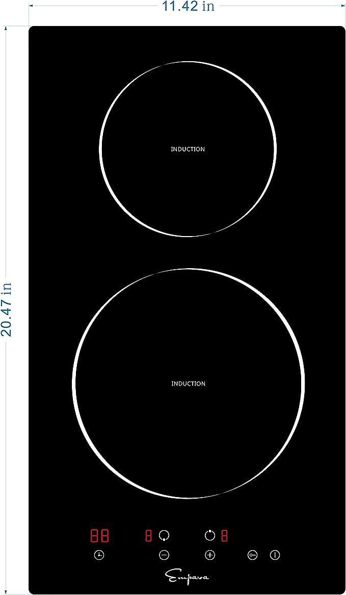 Amazon.com: Empava - Anafe, 12 pulgadas, inducción ...