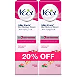 Veet Hair Removal Cream Normal Skin 100g Twin Pack At 20% Off