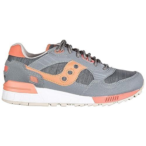 Saucony Zapatos Zapatillas de Deporte Mujer Shadow 5000 Gris: MainApps: Amazon.es: Zapatos y complementos