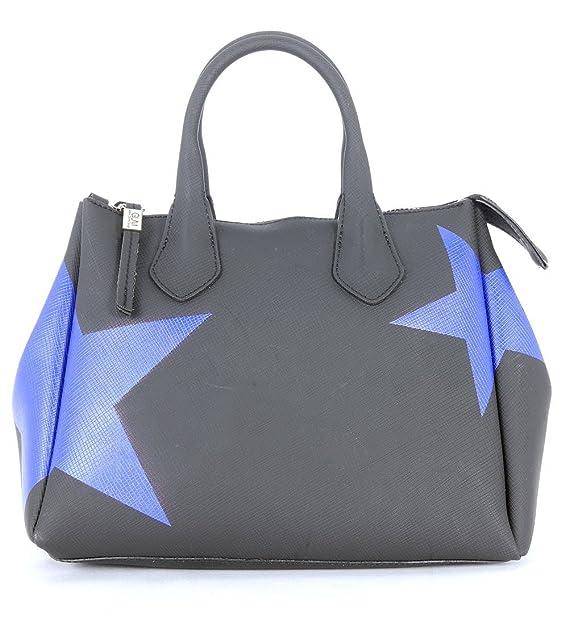 GUM Gianni Chiarini Borsa a mano Design in gomma nera stella blu elettrico   Amazon.it  Abbigliamento 5bb828fec1f