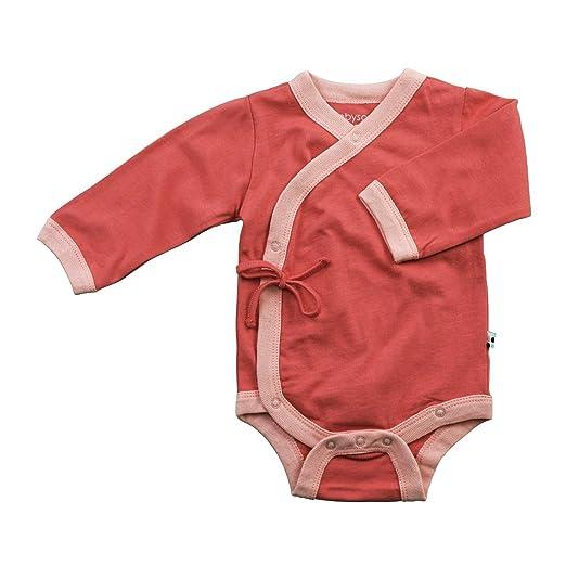 02c1fa1a8 Amazon.com  Babysoy Baby Girls  Kimono Bodysuit  Clothing