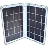 Suntactics S14 Dual Port Solar Charger, Quick Charge Phones, Power Banks and Many Other USB Devices Using Only The Sun…
