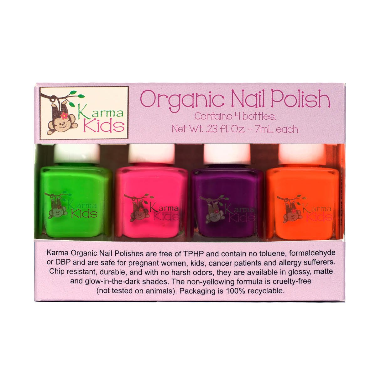 Amazon.com: Karma Kids Box Set No. 2 - Nail Polish; Non-Toxic, Vegan ...