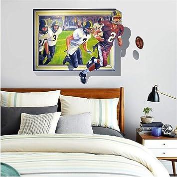 Die Nachahmung von Windows Rugby Wall Sticker für Wohn-/Schlafzimmer ...