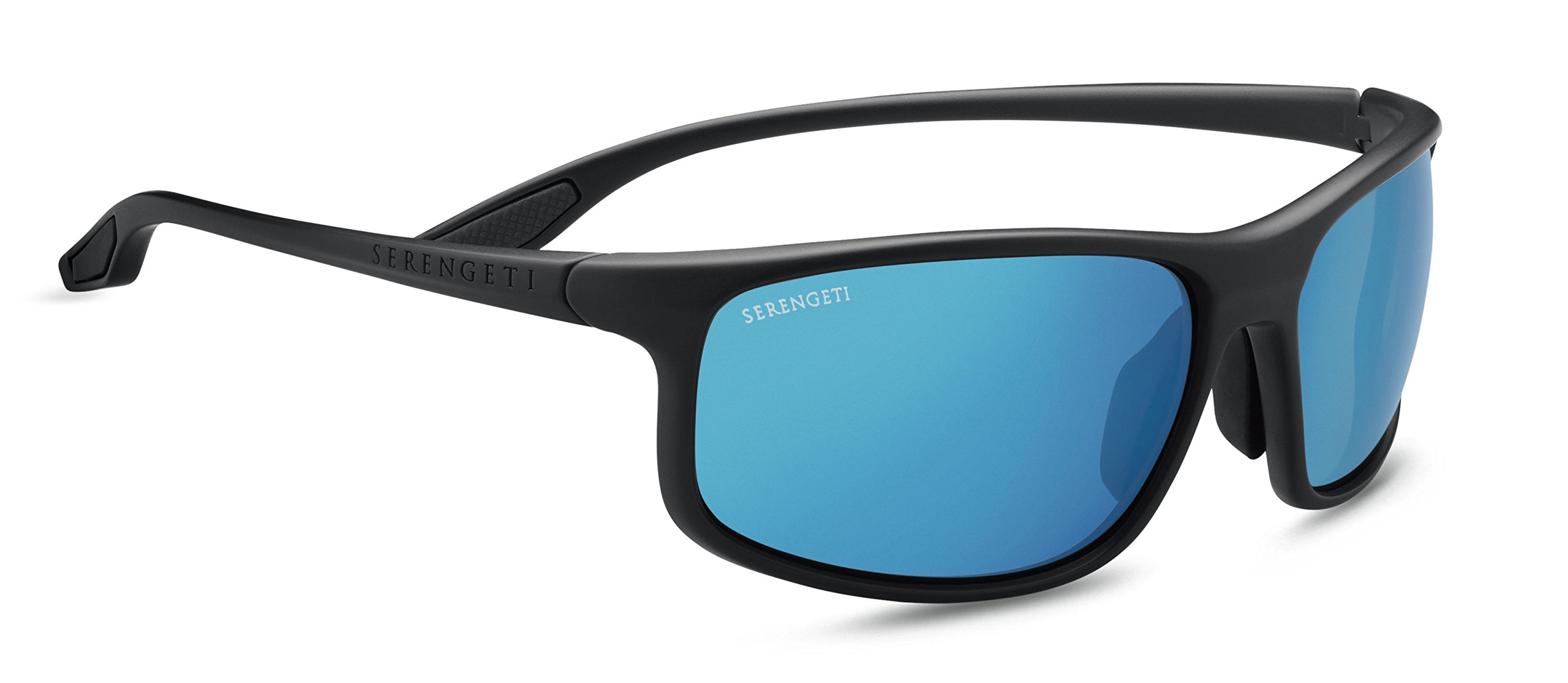 Serengeti Levanzo Sunglasses, Sanded Dark Grey by Serengeti