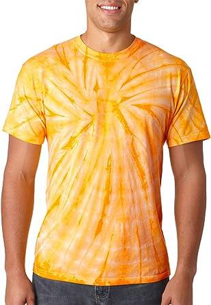comprar Cool camisas 100% algodón colorido tie dye araña Twist camiseta