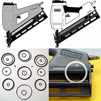Senco Framing Nailer SN4 SN70 Washer Firing Valve Seals LB3500 X 5