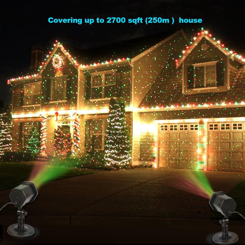 Amazon.com: Laser Christmas Lights, InnooLight Outdoor Christmas ...