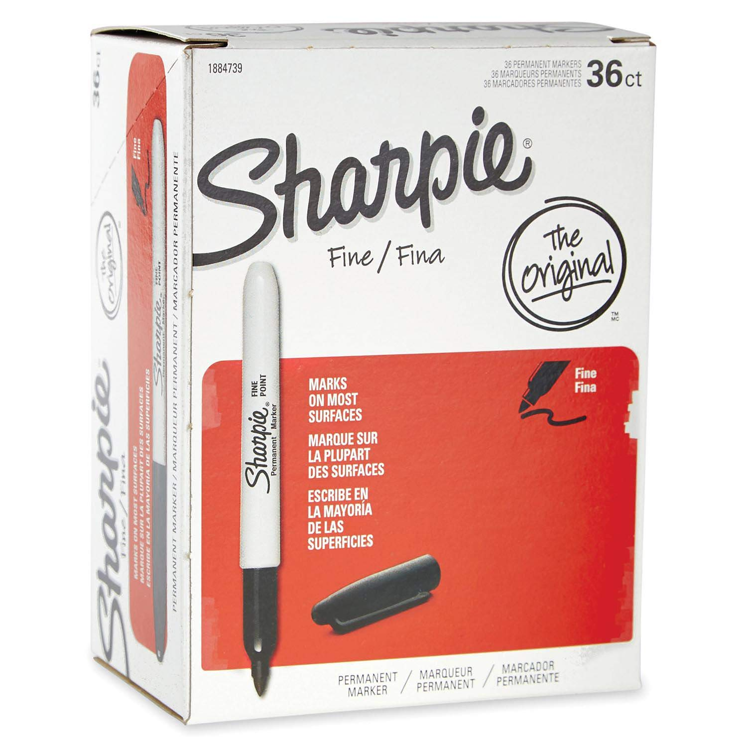 An Item of Sharpie Permanent Marker, Fine Point, Select Color - 36/Pack - Pack of 1 by Brand of Sharpie
