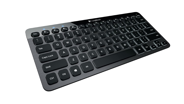 Logitech Bluetooth Illuminated Keyboard K810 - teclados para móviles (Aluminio, Mini, QWERTZ, Alemán, Polímero de Litio, Bluetooth): Amazon.es: Informática