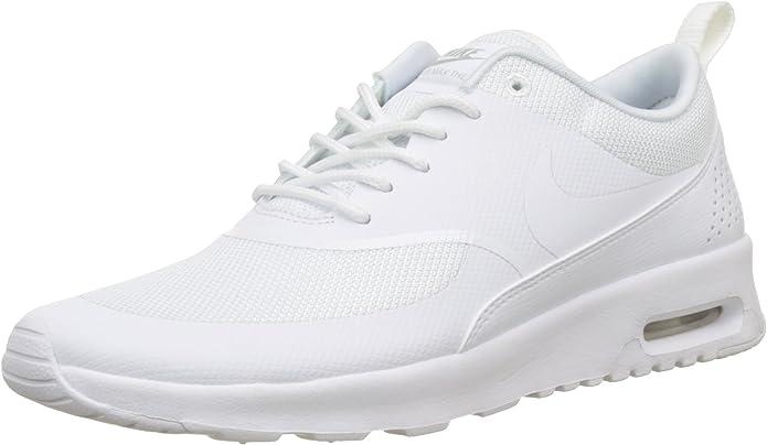 Nike Air Max Thea Sneakers Damen Weiß mit weißen Streifen