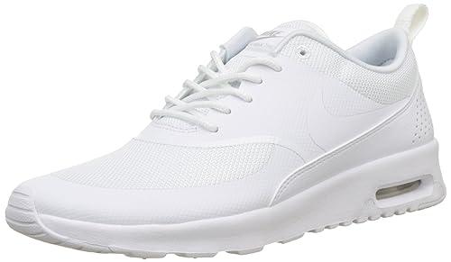 Nike Air Max Thea Baskets Blanc Platine Femme Platine
