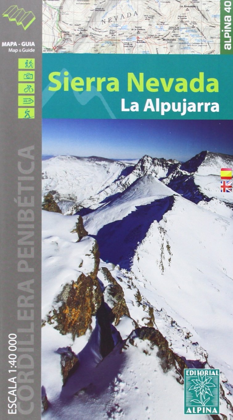 Sierra Nevada. La Alpujarra. Escala 1:40.000. Mapa ...