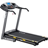 MaxKare Electric Folding Treadmill Auto Incline Running Machine 2.5HP Power 8.5MHP Speed 12-Level Adjustment with 15 Pre…