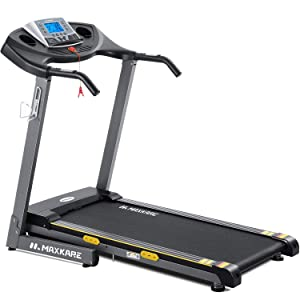 MaxKare Electric Folding Treadmill Auto Incline Running Machine