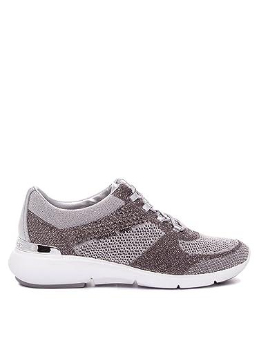 MICHAEL by Michael Kors Skyler Zapatillas Mujer 37 EU Plateado: Amazon.es: Zapatos y complementos