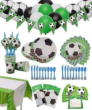 Amazon Com Pixhotul Suministros Para Fiesta De Fútbol