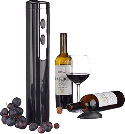 Pack de 2 Coupe-Capsule de Vin Noir Ouvre Bouteille pour Vin