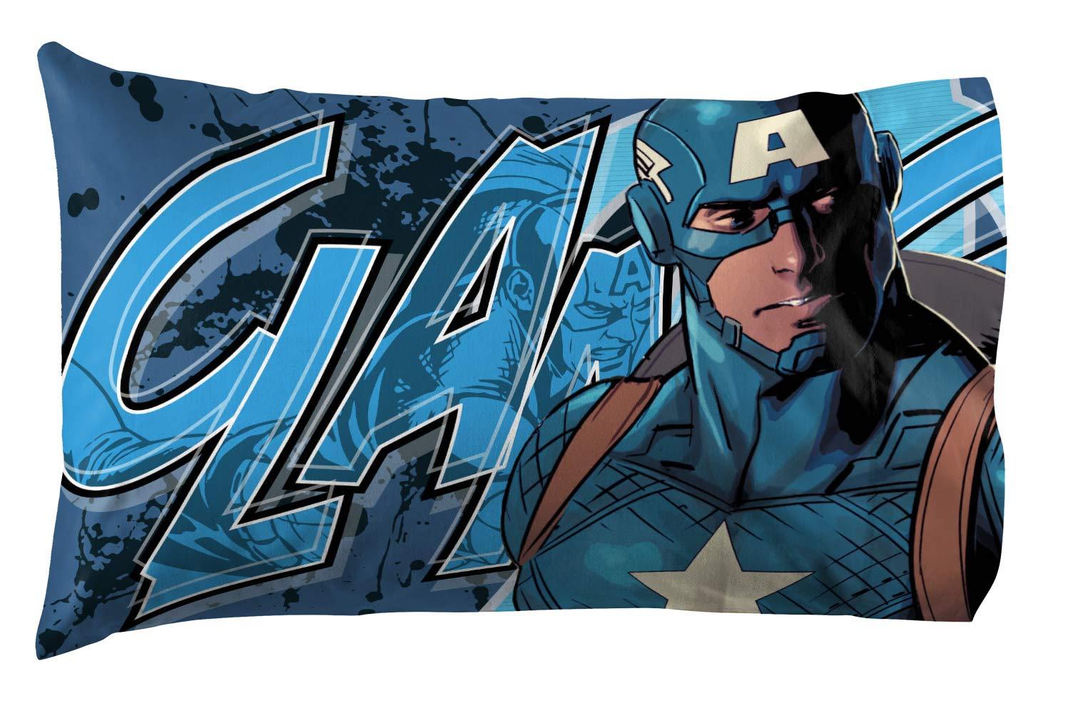 Jay Franco Marvel Avengers Publish 3 Piece Twin Sheet Set, by Jay Franco (Image #5)