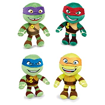 Peluche soft Tortugas Ninja T1 surtido: Amazon.es: Juguetes ...