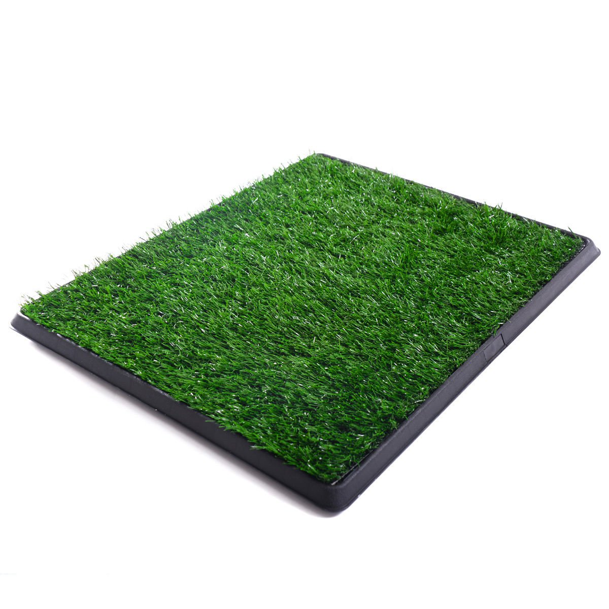 20'' X 25'' Pet Potty Dog Training Grass Puppy Pad Washable Synthetic Grass Pad Drain Tray