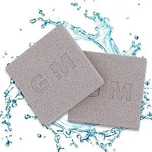 DOHO Aquarium Filter Media Bio Ceramic Brick Bio Balls Filter Media for Fish Tank 2 Pcs