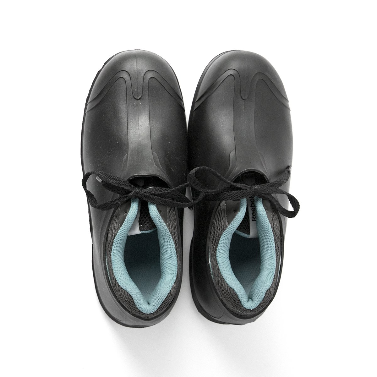 Black Size Medium UltraSource 440095-M PVC Overshoes 8-9 4