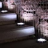 heaven2017 8 LED Outdoor Garden Solar Underground