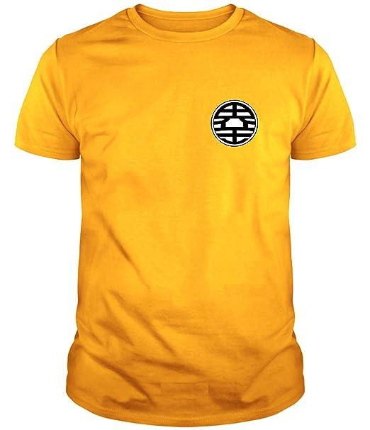 Camiseta de Hombre Dragon Ball Son Goku Anime Vegeta Piccolo Akira Toriyama: Amazon.es: Ropa y accesorios