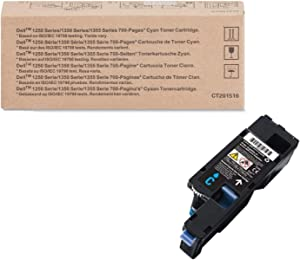 Dell YX24V SY 700-Page Toner Cartridge for Dell 1250c/1350cnw/1355cn/1355cnw/C1760nw/C1765nf/C1765nfw, Cyan