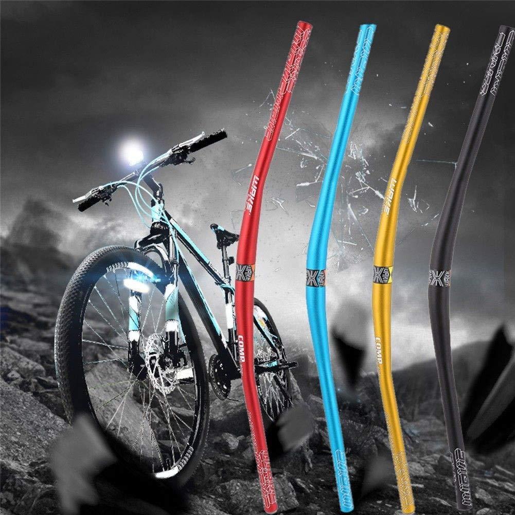 annotebestus 780x31.8mm Bici Manubrio Ultraleggera MTB Bicicletta Integrato Accessori Durevoli Ciclismo Kit per Mountain Bike//Bici da Strada//Corsa Comodo da Impugnare Facile da Installare