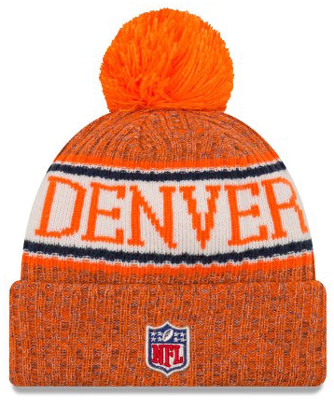 Amazon.com   New Era Youth Denver Broncos Official Sport Knit NFL Beanie 47a8449aa