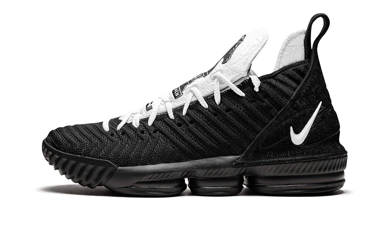 new concept 60382 1d3d3 Amazon.com | Nike Lebron 16 (Black/White-Black 10.5 ...