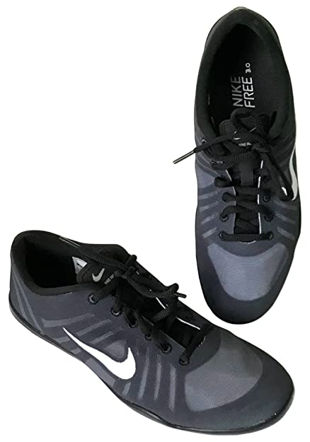 d44c718bfe55 Nike Women s Free 3.0 Studio Dance Sneakers Shoes - Black White ...