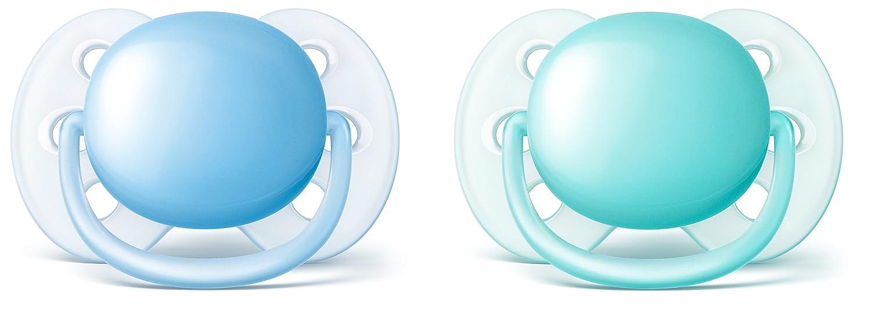Philips Avent Sucette Ultra Douce pour Fille 0-6 Mois PHIDK SCF213/20