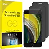 JETech Protector de Pantalla para iPhone SE 2020, iPhone 8 y iPhone 7, Vidrio Templado, Anti-Spy, 2 Unidades