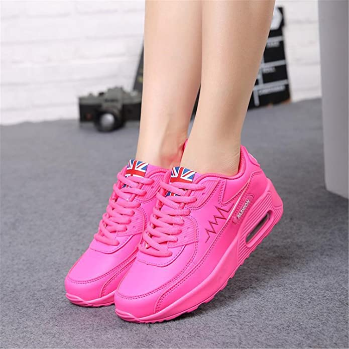 Amazon.com | Feilongzaitianba Sport Women Shoes Women Casual Shoes Women Trainers Outdoor Walking Platform Shoes | Flats