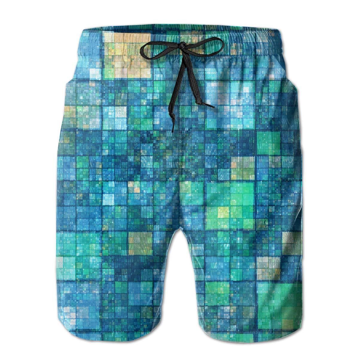 Men Soft Hawaii Beach Traveler Classic Beach Shorts Swim Trunks Board Shorts