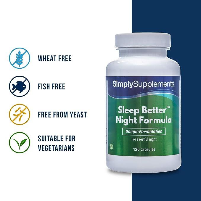 Pastillas para dormir - ¡Bote para 2 meses! - Apto para veganos ...