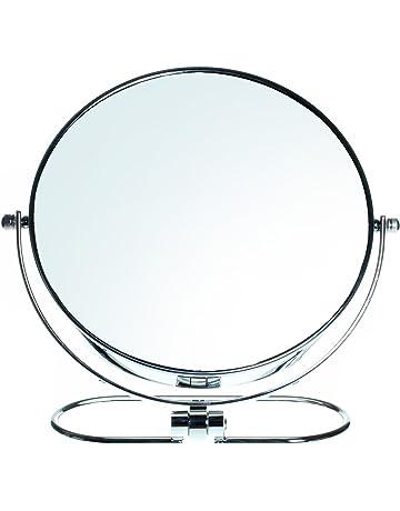 HIMRY Plegable Doble Cara Espejo cosmético 8 Inch, Aumento 10 x, Giratorio 360 °