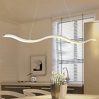 Pendelleuchte Esszimmer | N3 Lighting Moderne Design Led Pendelleuchte Esszimmer Pendellampe
