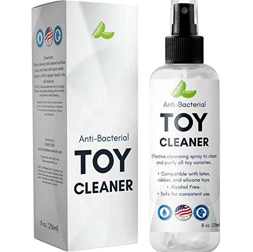 Silicon Toy Cleaner Water Based Anti-Bacterial Anti-Microbial Disinfectant Spray for Toys