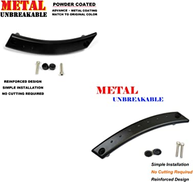 Door Inside Handle Chrome Front Right Replacement for 98-10 VW Beetle