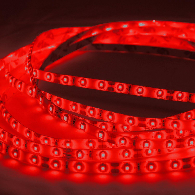 Green SMD 2835 12V ABI 300 LED Flexible Strip Light Kit w// Power Supply 5M