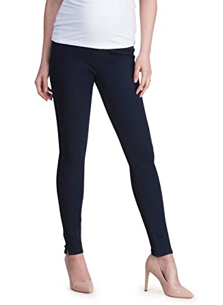 2f2025239e025 Seraphine Women's Indigo Over Bump Super-Skinny Maternity Jeans at Amazon  Women's Clothing store: