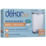 Amazon Price History for:Diaper Dekor Plus Biodegradable Refill - 2 ct
