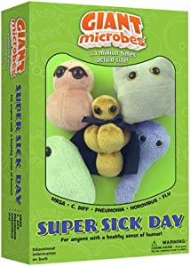 GIANTmicrobes Themed Gift Box - Super Sick Day