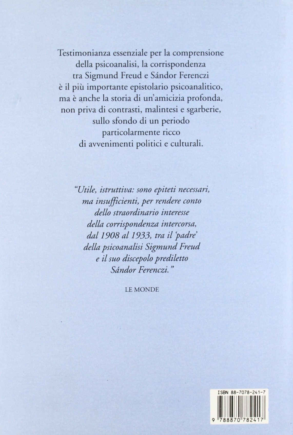 Amazon it lettere 1908 1914 sigmund freud s ndor ferenczi a a semi s stefani libri